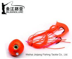 Wp-51 Gabarit en caoutchouc coloré Lure appât leurre de pêche de poids différentes Slider Kabura Tungsten pêche appâts de pêche en acier de tungstène de diversion