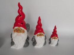 OEMのクリスマスのギフトの樹脂はTerracottadeocrationを制作する