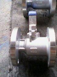 1PC de DIN Van een flens voorzien Kogelklep van het Type/De Klep van de Controle/de Klep van de Stop/Vleugelklep