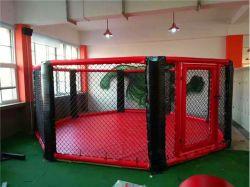 Fábrica de profesional de equipos de gimnasia octogonal de MMA la lucha contra la jaula/Equipos de Gimnasio de Boxeo montado en el piso