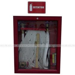 Indoor Acier ou acier inoxydable Fire Cabinet Enrouleur de tuyau