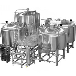 1000L brasserie de bière en acier inoxydable industriel pour la vente d'équipement
