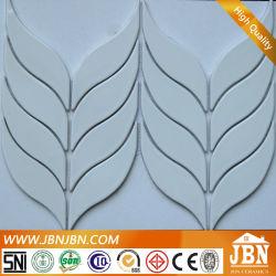 تصميم جديد شكل ورقة ملونة مصنع فسيفساء السيراميك (C655033)