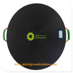 Ligero y pesado Alfombrillas/ Estabilizador de HDPE pad de protección de la pierna de la grúa grúa/ Pie de notas