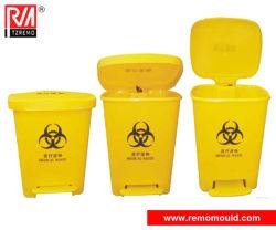 Medizinische Abfalleimer mit Pedalform