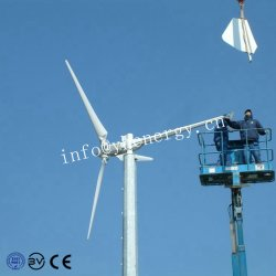 5kw exécutant de vent faible faible bruit de générateur de l'éolienne