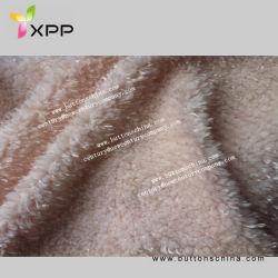 Weißer gefälschter Pelz Sherpa