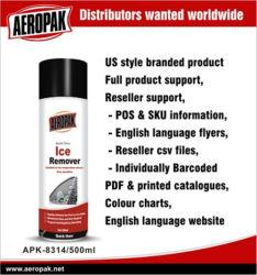 차 500ml를 위한 Aeropak 얼음 제거제