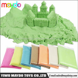 DIY 교육용 Kinetic Sand Toy Magic Space Play Sand