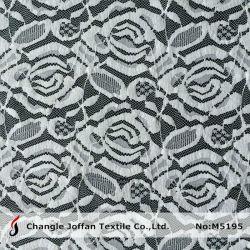 Merletto di lavoro a maglia del tessuto del fiore del filo di ordito (M5195)