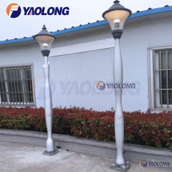 5mtr 6mtr 7mtr de aluminio de fácil montaje soporte de poste de luz de la calle