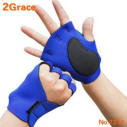 反スリップの体操の練習のスポーツの手袋を循環させるネオプレン