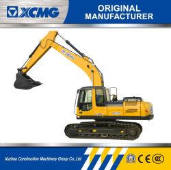 Commerce de gros excavateurs 21tonne XCMG Type de pelle rétro excavatrice 215C Pelles sur chenilles moteur diesel