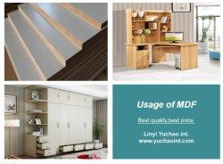 La melamina, madera contrachapada para mueble /Furnitue buena calidad de la fábrica