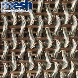 Wire Mesh décoratifs comme le mur du bâtiment matériaux décoratifs