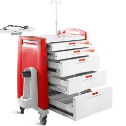 Station de travail fonctionnels durables Skr058 Ambulance ABS médecine Chariot de livraison