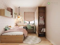 Nordic Customized Kid's Bedroom Pink und Hellgrün