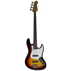 Estilo de Jazz Standard Electric Bass Guitar com Sunburst Color
