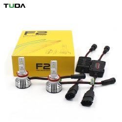 Ventilador de 24V de coche auto piezas cortas de alta H7 9005 9006 9005 H4 9004 9007 F2 LED Lámpara de faro