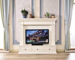 Meuble TV mural modèle Accueil Mobilier cheminée avec décorer de Mantel