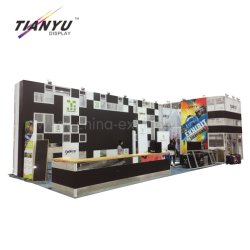 Shanghai Expo Trade Show Regime Shell Parada do mostrador da cabine de concepção e construção de cabine de exposições