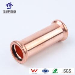 Le cuivre diamètre égal à 90 degrés de l'eau de drainage et d'alimentation/de l'eau de réfrigération/coude de la pression des raccords de tuyaux de gaz