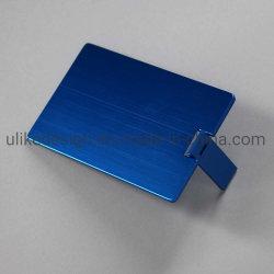 شعار مصنعي المعدات الأصلية (OEM) مخصص قلم بطاقة الائتمان USB محرك الهدايا الترويجية محرك أقراص USB محمول سعة 2 جيجابايت