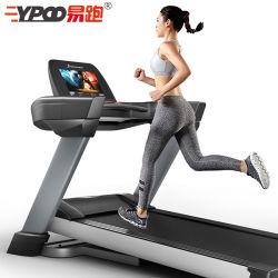 Salle de Gym Sports Ypoo du matériel de fitness machine de course sur tapis roulant commerciale électrique