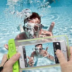Förderung Belüftung-Halsketten-wasserdichter Handy-Fall mit Abzuglinie (MA024)