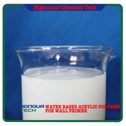 Apprêt de base d'eau résine polymère pour l'Intérieur et des murs extérieurs