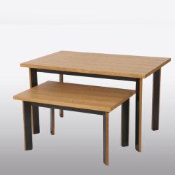 O nesting, Suporte de monitor da mesa de madeira para calçado Lojas de varejo
