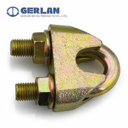 Galvanisierte formbare justierbare DIN1142 Drahtseil-Schelle