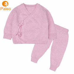 OEM ODMの工場平野のブティックの赤ん坊のBodysuitの子供のセーターは服装をからかう