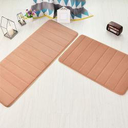 (CHAKME) barato Non-Slip absorbente de la puerta de la alfombra de baño Cuarto de baño alfombra Lavable a máquina