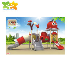 A01 дети государственных пластиковый открытый детская площадка оборудование слайд