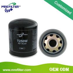 トラックオイルの円滑油HEPAはDafエンジンT250Wのための自動空気ドライヤーフィルターを分ける