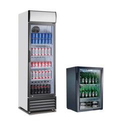 Ресторан в коммерческих целях напитков витрина холодильник в вертикальном положении охладителя
