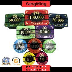 760PCS nieuwe het Gokken van het Ontwerp Spaanders voor Spaander van de Pook van het Embleem van de Douane van het Casino de Acryl (ym-LCTJ003)