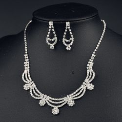 Ручная работа Rhinestone Earring наборы свадебные украшения ювелирных изделий,