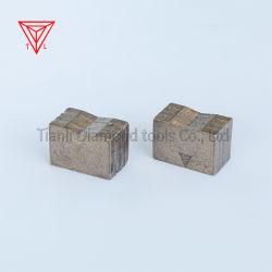 La minería Disco de la Sierra de corte de diamante Herramientas de segmentos de PCD para mármol Granito de hormigón de roca caliza