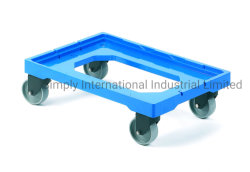 Transfert de la logistique de livraison multifonctions panier Chariot dolly en plastique