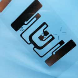 ISO18000-6Cロールの受動AD383ペーパーFlexibe UHF RFIDの札