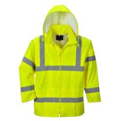 Custom Mens encapuchado invierno Hi Vis/Ropa reflectante desgaste/Seguridad/ropa ropa ropa de trabajo//chaqueta uniforme/