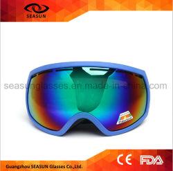 Глаза рампы сферической двойной Anti-Fog Бахам Racing снег горнолыжные очки
