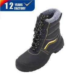 모피가 달린 겨울용 신발 따뜻한 레이스 밀러 스틸 안전화