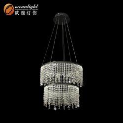 2018 Plafond moderne lustre en cristal pendentif d'éclairage Lampe pour l'hôtel
