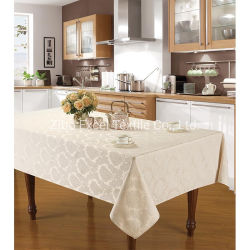 Venda por grosso de decoração de mesa impressos toalha bordada