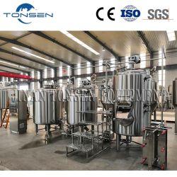 Tonsen 완전한 100L 200L 300L 500L 800L 1000L 1500L 2000L 3000L 5000L 마이크로 양조장 양조주 집 맥주 공장 맥주 양조 장비