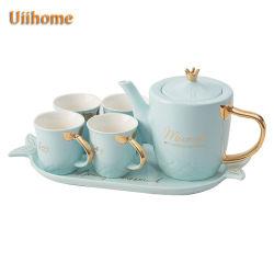Керамический набор для приготовления чая и кофе, набор для приготовления чая кофе из фарфора посуда ужин подарок