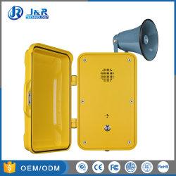 SIP Vandal resistente Sprechanlage, VoIP Wetterfeste industrielle Telefon-Notruftelefone
